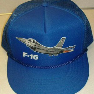 Other - F16 F-16 Airforce Planes Vintage 80s snapback hat